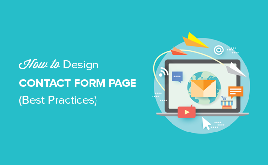 12 Best Practices for Contact Form Page Design (with Examples)