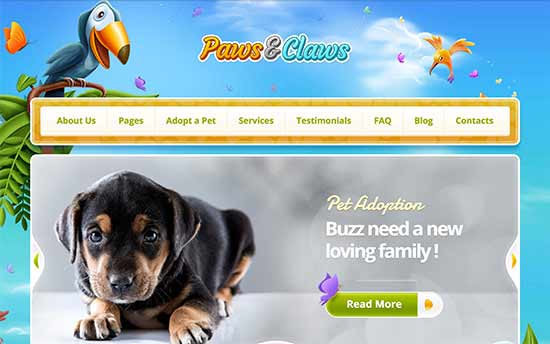 24 Best WordPress Themes for Animals and Pets (2017)