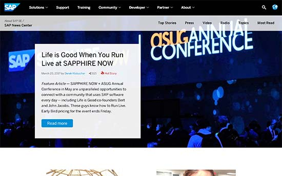 SAP Haber Merkezi