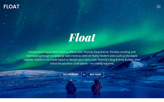 Float Best WordPress Multi-purpose Theme