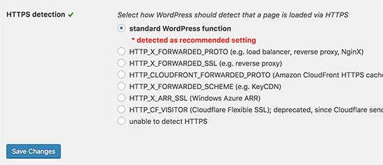 HTTPS detect