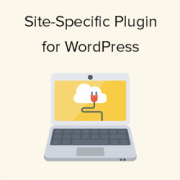 What, Why, and How-To's of Creating a Site-Specific WordPress Plugin