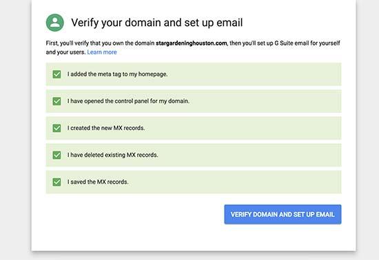 zakelijk emailadres maken