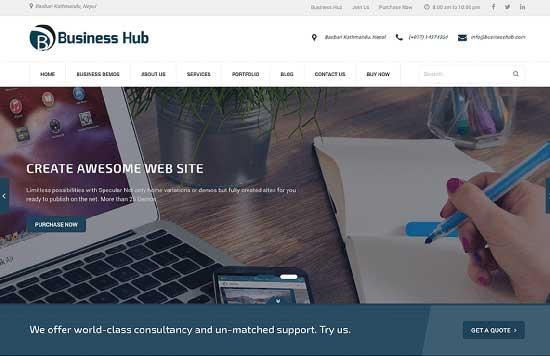 Business Hub