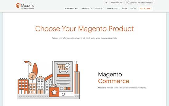 Paket dan produk Magento