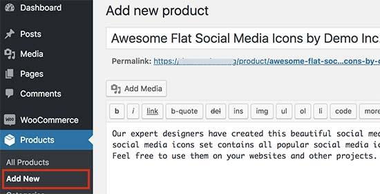 Voeg een nieuw downloadbestand toe als een product