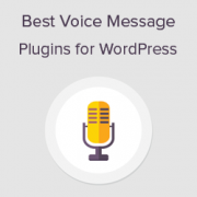 6 Best Voice Message Plugins for WordPress