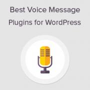 6 Best Voice Message Plugins for WordPress