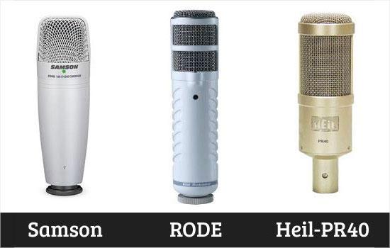 Een professionele microfoon kopen voor podcasting