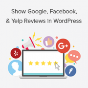 How to Show Google, Facebook, and Yelp Reviews in WordPress