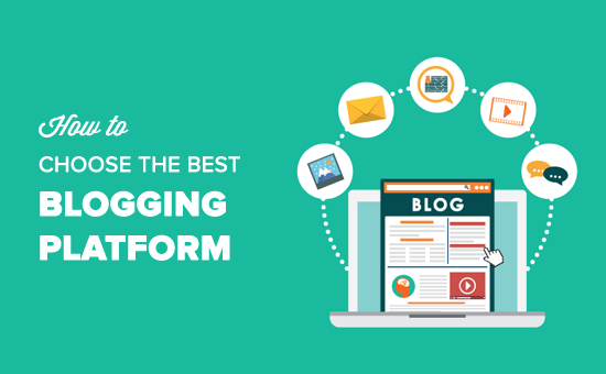 How to Choose the Best Blogging Platform in 2019 (Compared)