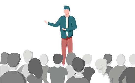 成为公开演讲者