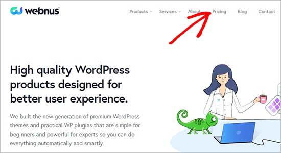 Webnus website