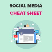 The Complete Social Media Cheat Sheet for WordPress (Updated)