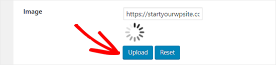 Upload a New Loading Image for WordPress Infinite Scroll