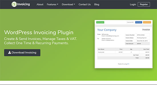 WP Invoicing