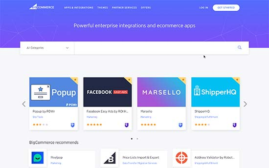 BigCommerce apps