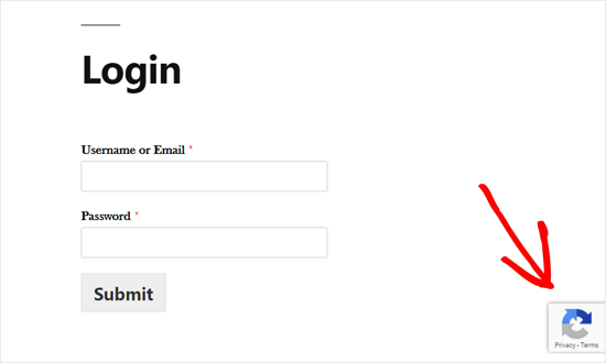 Custom WordPress Login Form With reCAPTCHA