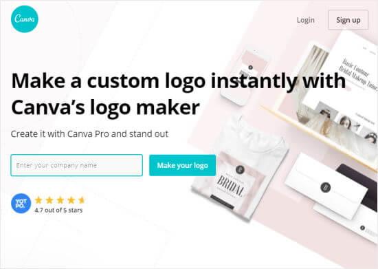 Creatore di logo Canva Pro