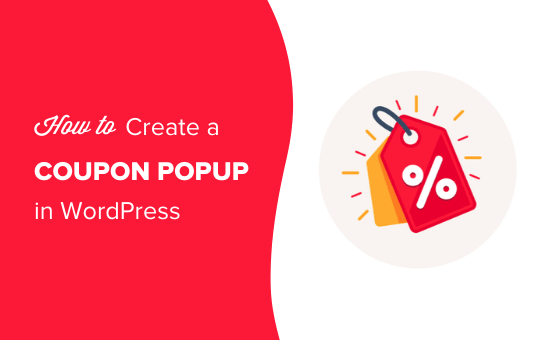 How to Create a Coupon Popup in WordPress - featured image shows discount tag