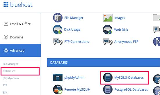 Informazioni sul database