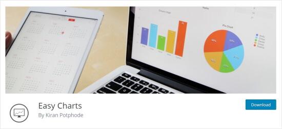 Plugin per la visualizzazione dei dati di Easy Charts