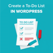 How to Create a To-Do List in WordPress
