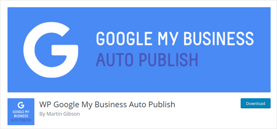 Google My Business Auto Publish plugin