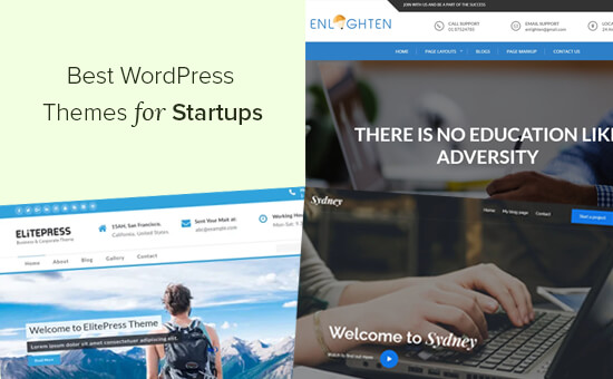 Best WordPress Themes for Startups