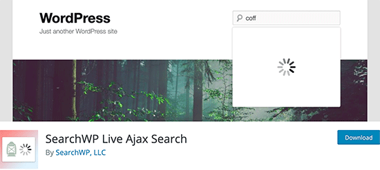 SearchWP Ajax Live