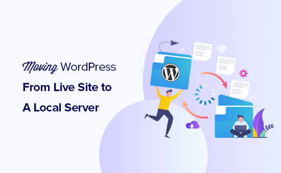Mover un sitio de WordPress en vivo a un servidor local en su computadora