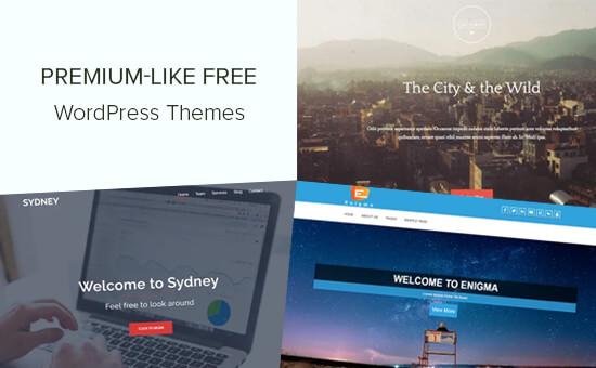 Mindblowing Premium-Like Free WordPress Themes