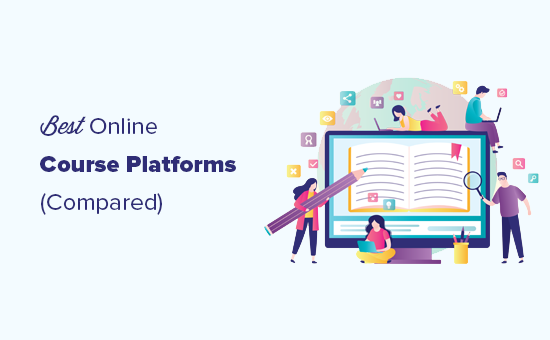 Comparing the best online course platforms